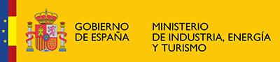 Logotipo del Ministerio de Industria, Energía y Turismo del Gobierno de España